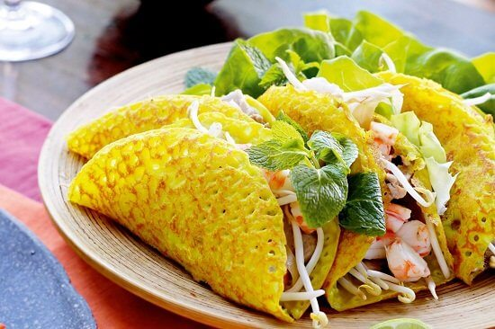 banh xeo of vietnam