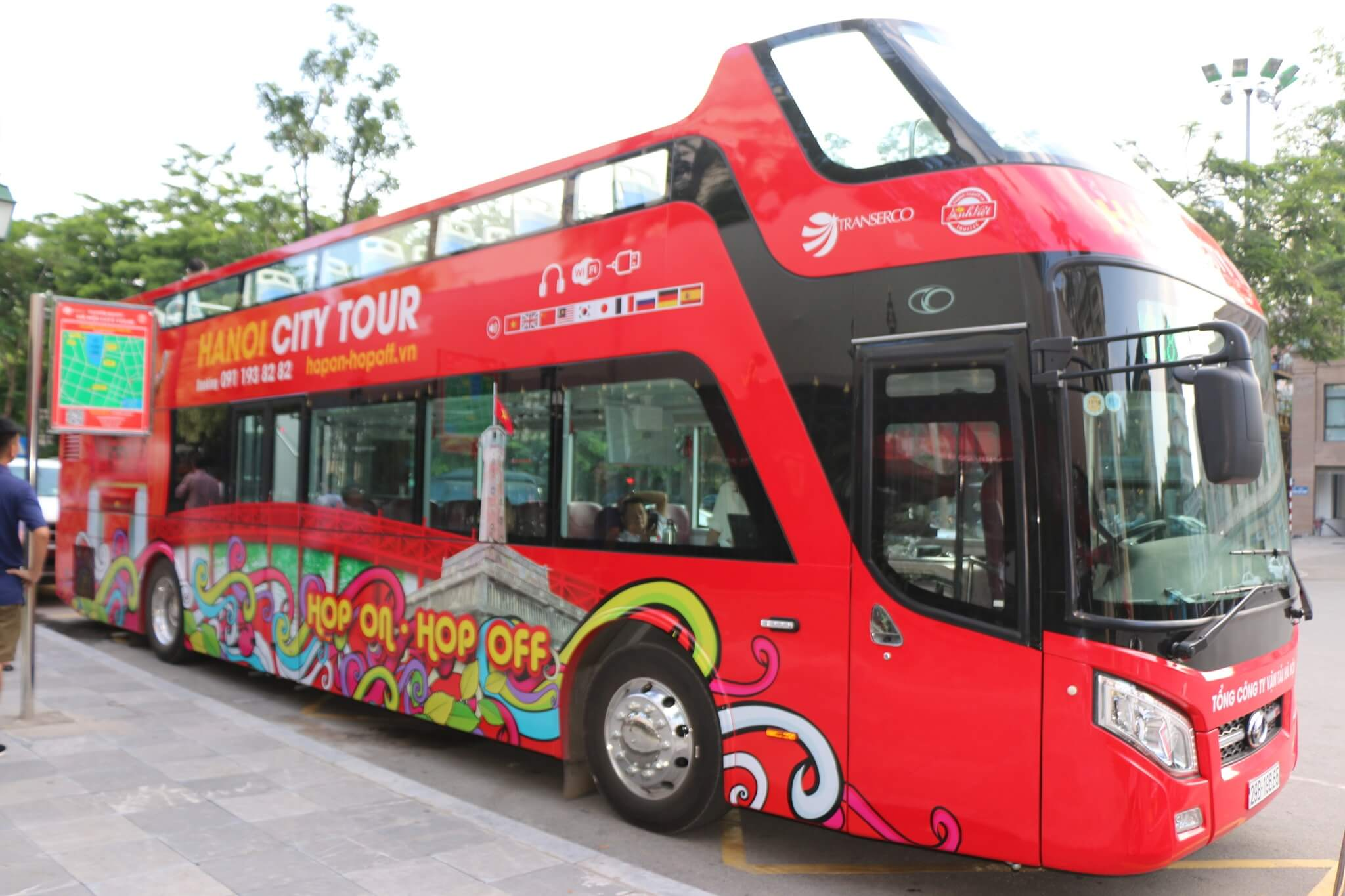 HaNoi City Bus Tour (Valid 24 hours)
